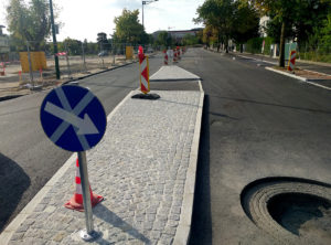 Bauarbeiten Guntramsdorfer Straße Mödling